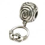 Claddagh Charm With Spiral/Tara's Diary