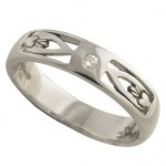Ladies Claddagh Wedding Ring