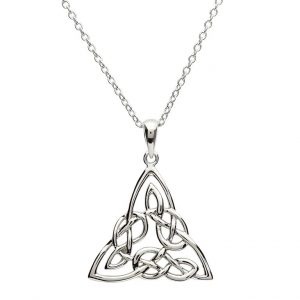 Silver Celtic Knotwork Pendant