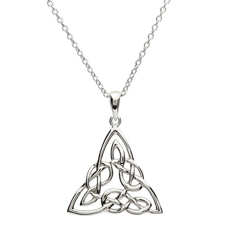 Silver Celtic Knotwork Pendant