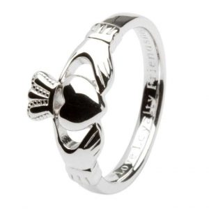 Gents Silver Claddagh 'Love Loyalty Friendship' Ring