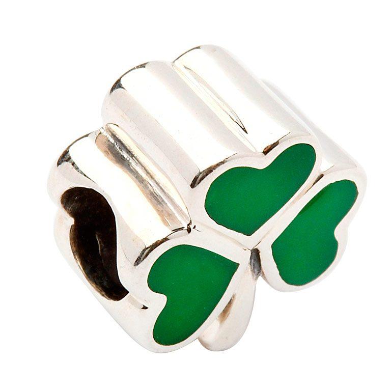 Celtic Shamrock Charm