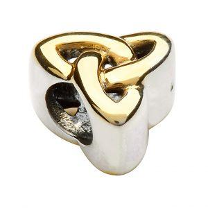 Tara's Diary Gold Plated Trinity Knot Charm