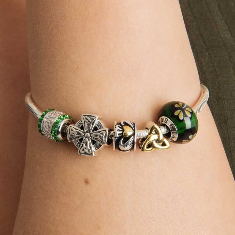 Tara's Diary St. Patrick's Day Charm on Arm